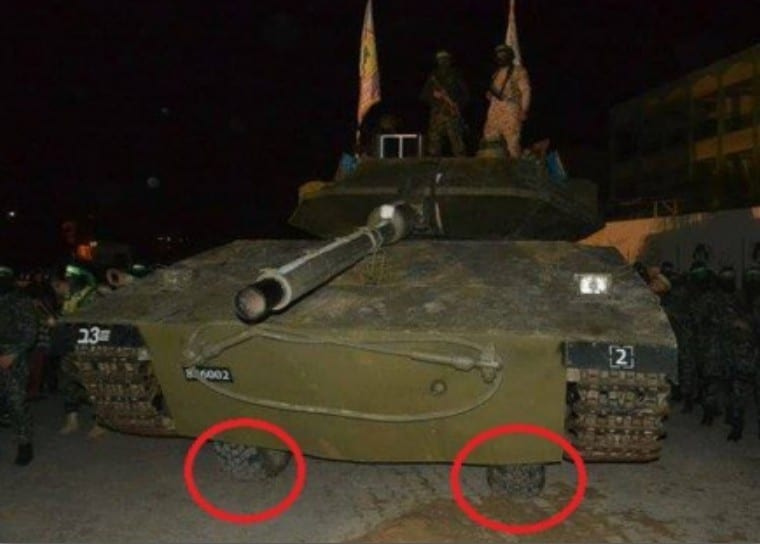 """Photo of Hamas Presents Locally Produced """"Tank"""", But Is It Genuine?"""