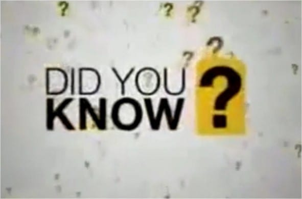 Photo of DID YOU KNOW?