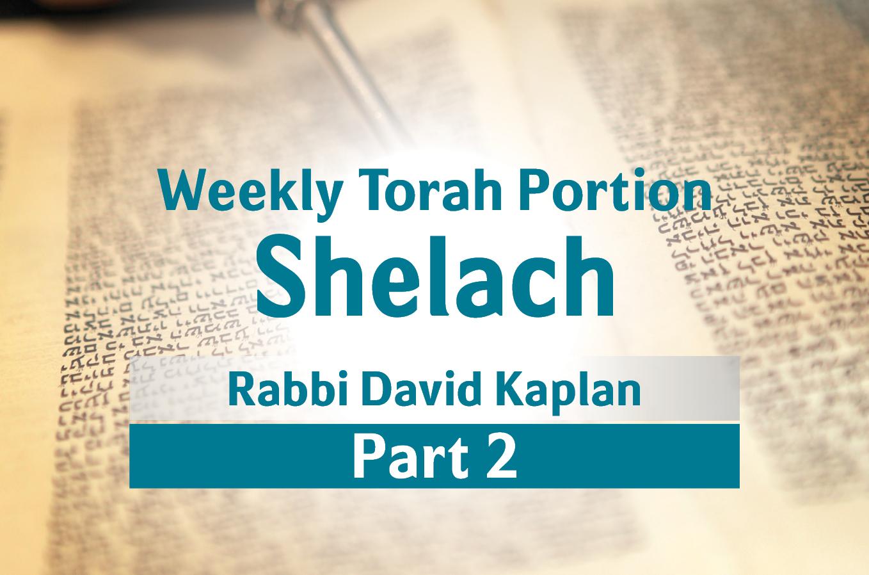 Photo of Shelach – Part 2