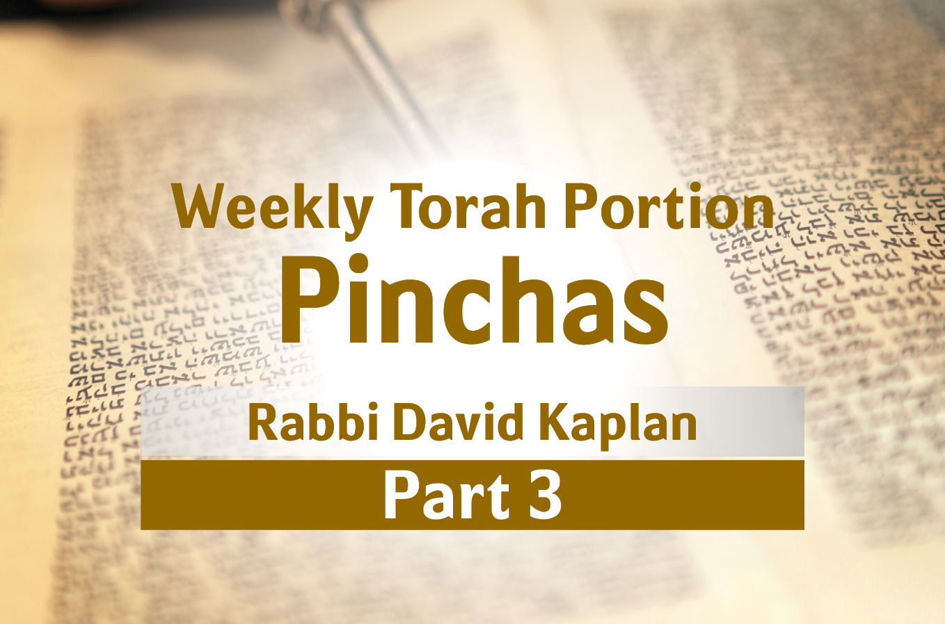 Photo of Pinchas – Why is it so Important Not to Talk in the Synagogue?