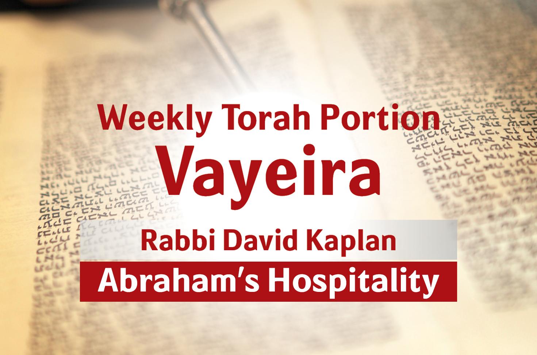 Photo of Vayeira – Abraham's Hospitality