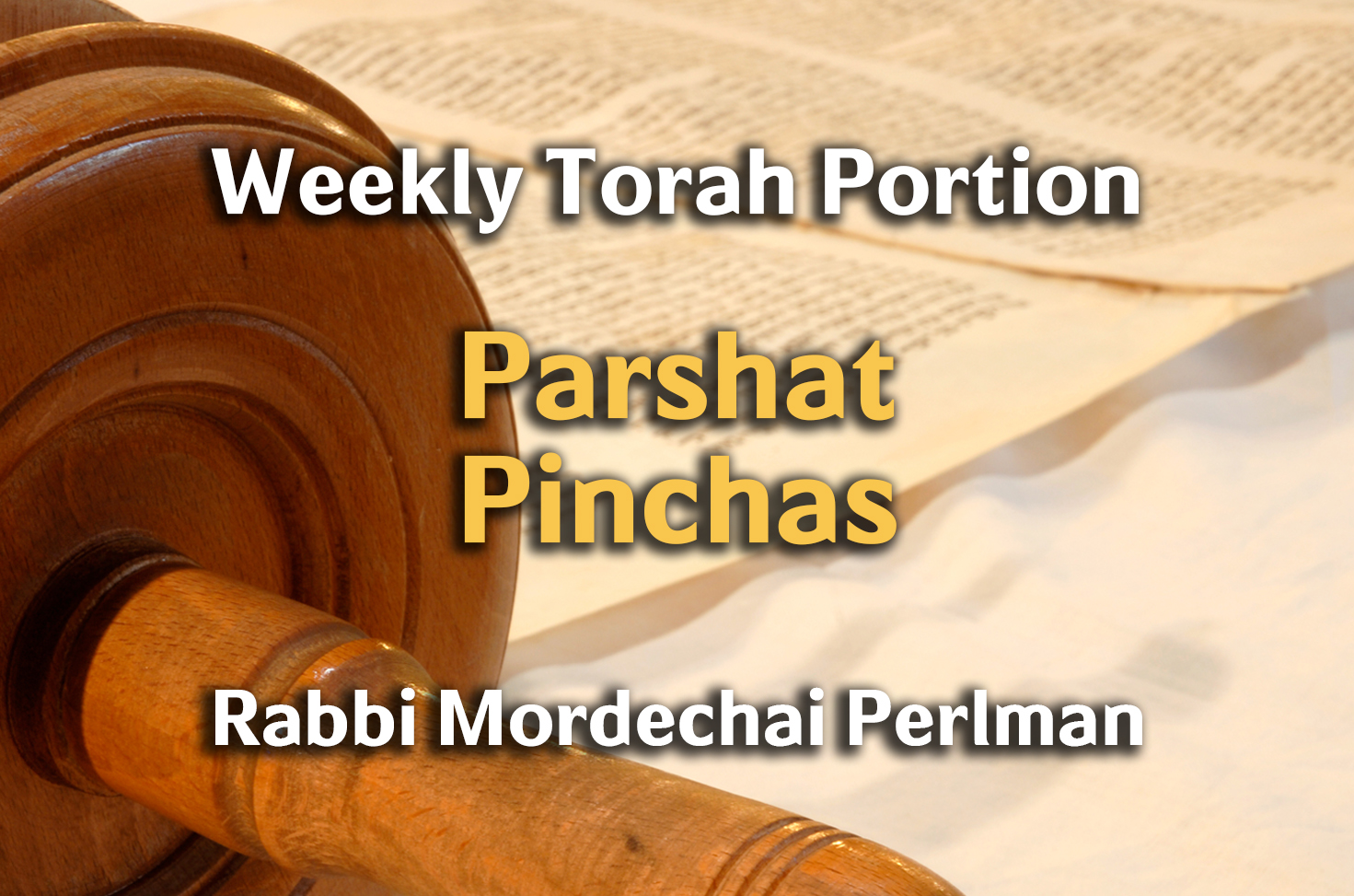 Photo of Pinchas – Moses & the Land of Israel