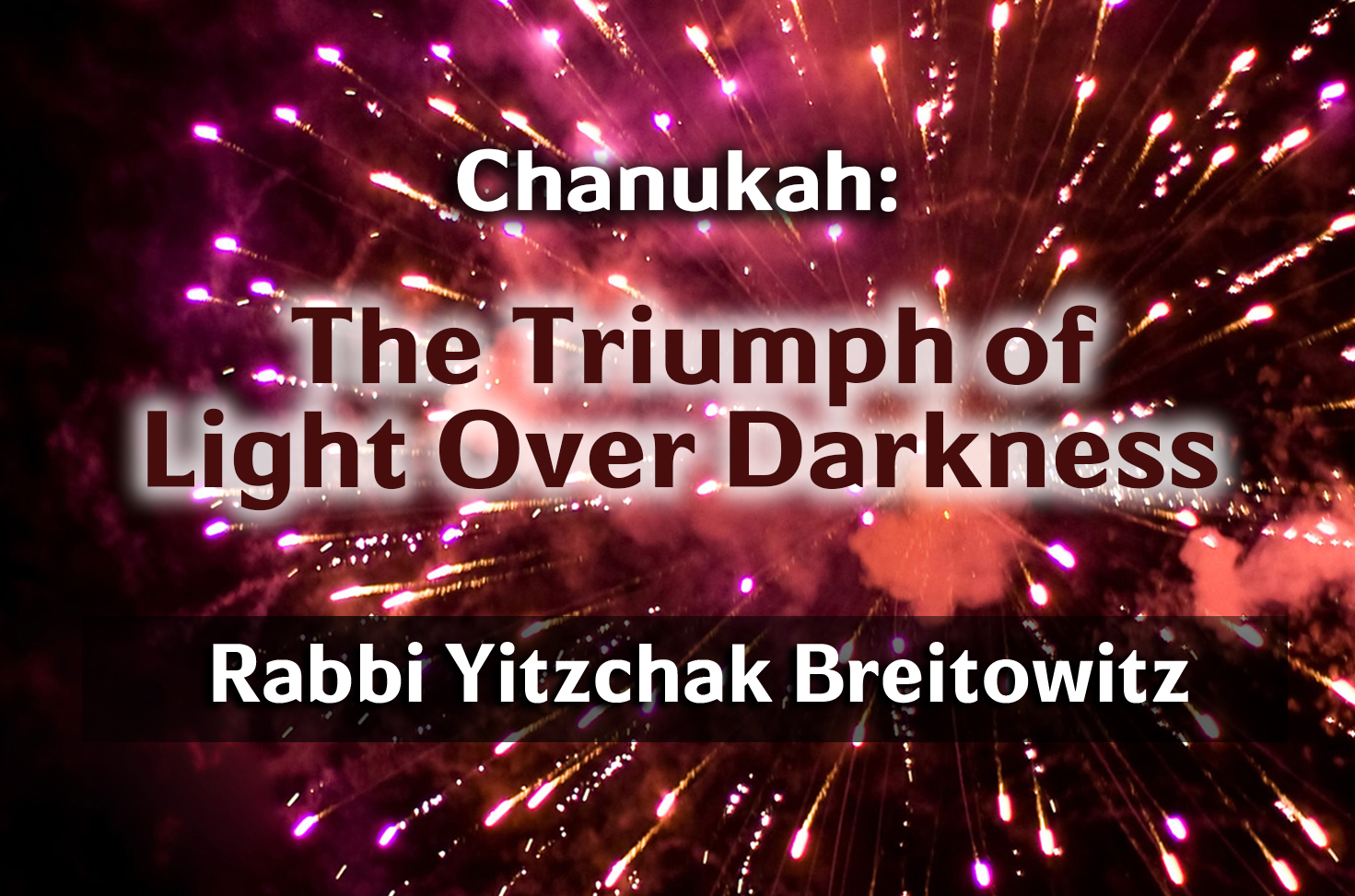 Photo of Hanukkah – The Triumph of Light Over Darkness