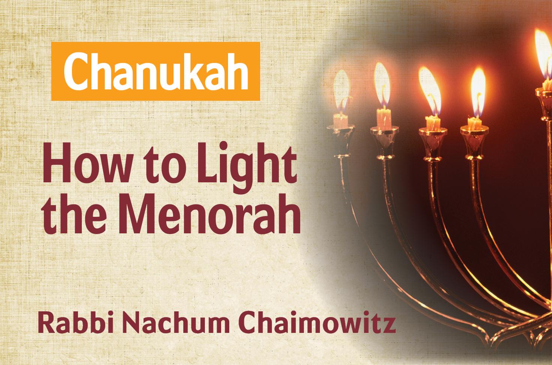 Photo of Hanukkah – How to Light the Menorah