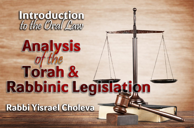 Photo of Analysing the Torah and Rabbinic Legislation