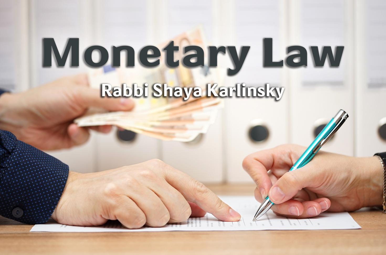 Photo of Monetary Law