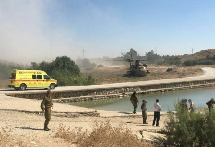 Photo of Soldier Drowns in Water Reservoir in West Negev