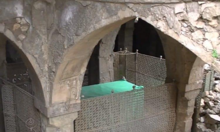 Photo of Prophet Nachum's Shrine at Risk of Collapse