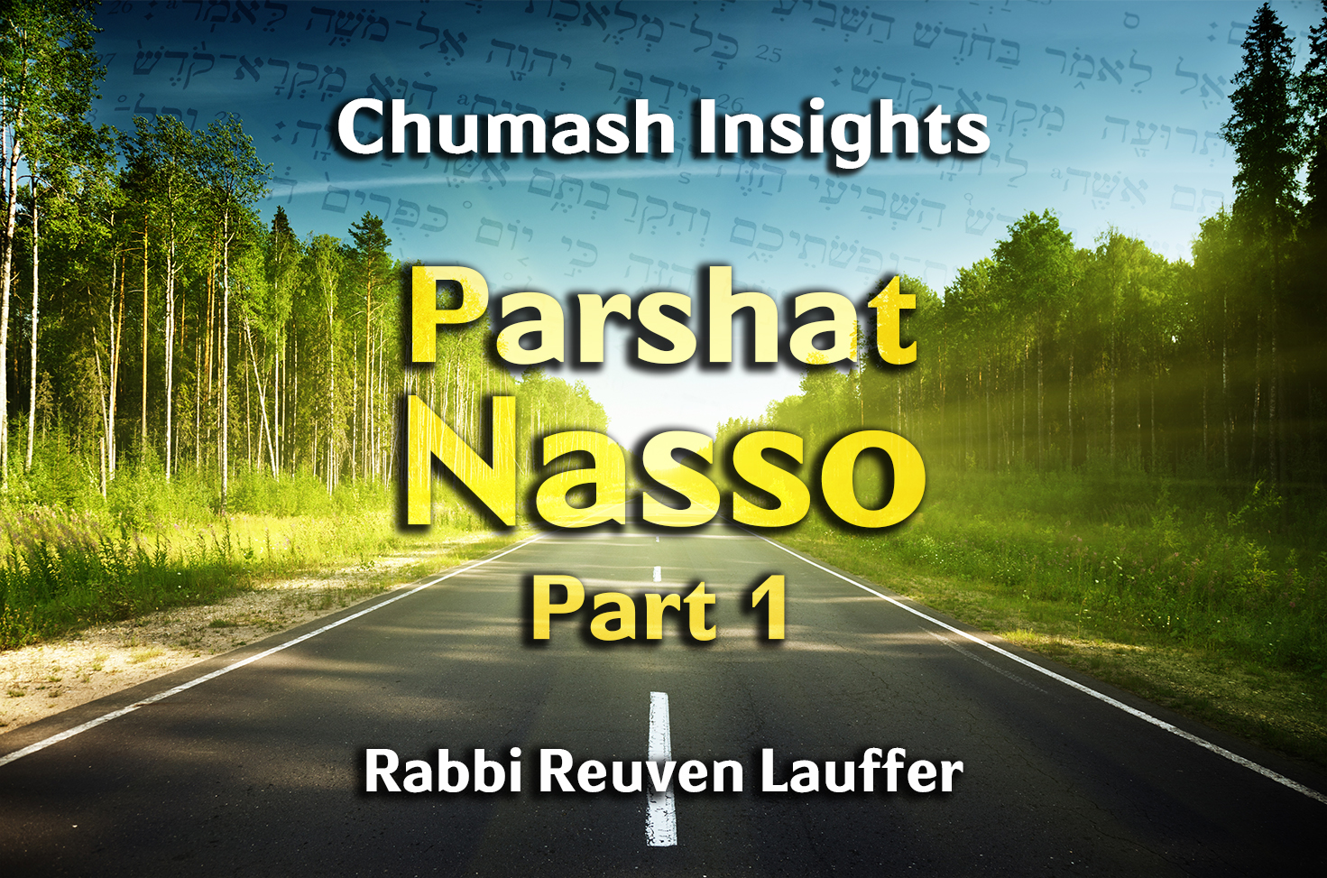 Photo of Parshat Nasso – Part 1