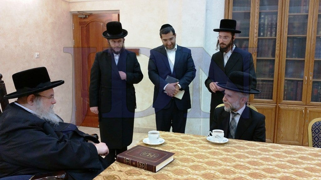 "Photo of The Rebbe Decided: ""Full Speed Ahead to Establish Hidabroot USA"""