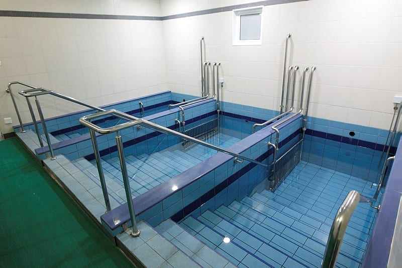 Photo of The First Immersion in the Mikvah — at Age 60