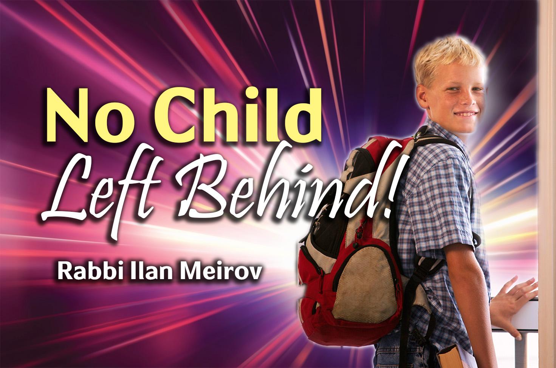 Photo of No Child Left Behind!