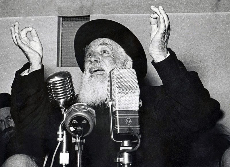 Photo of Watch: Rare Video of the Rabbi of Ponevezh