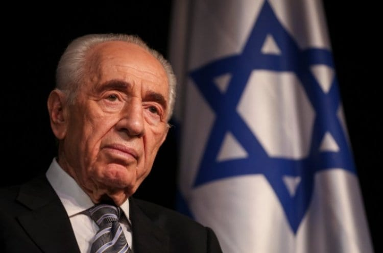 Photo of Mr. Shimon Peres, Israel's 9th President, Dies