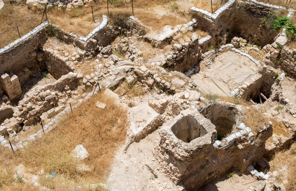 Photo of Jerusalem Wall Breached by Titus Discovered in Russian Compound