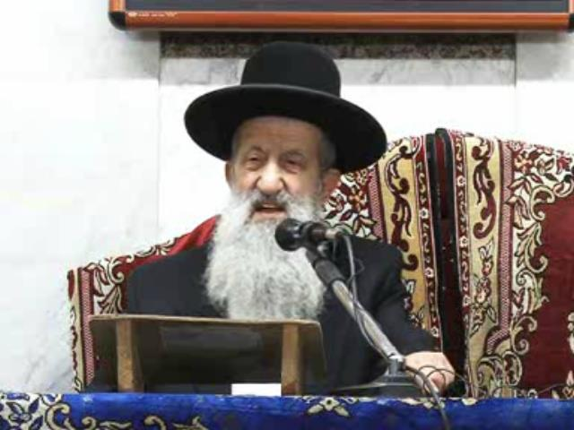 Photo of HaRav Ben-Tzion Mutzafi ben Tovah: Please Pray for His Physical Well-Being