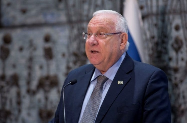 """Photo of Rivlin Apologizes After the Storm He Caused: """"The Shabbat Watches Over the Jewish Nation"""""""