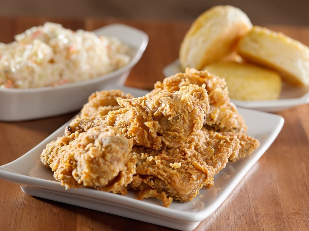 Photo of Southern Fried Corn Chex Chicken Schnitzel Sandwiches