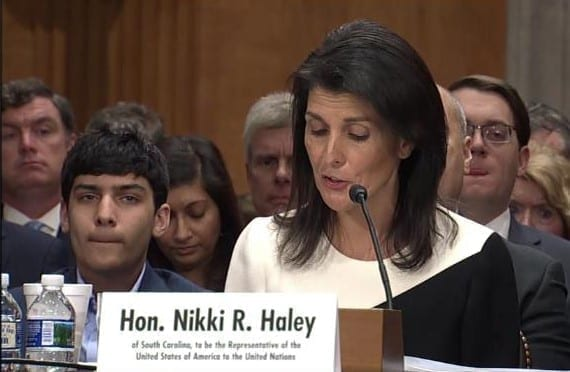 Photo of Nikki Haley, New U.S. Ambassador to the UN will defend Israel from UN Onslaught