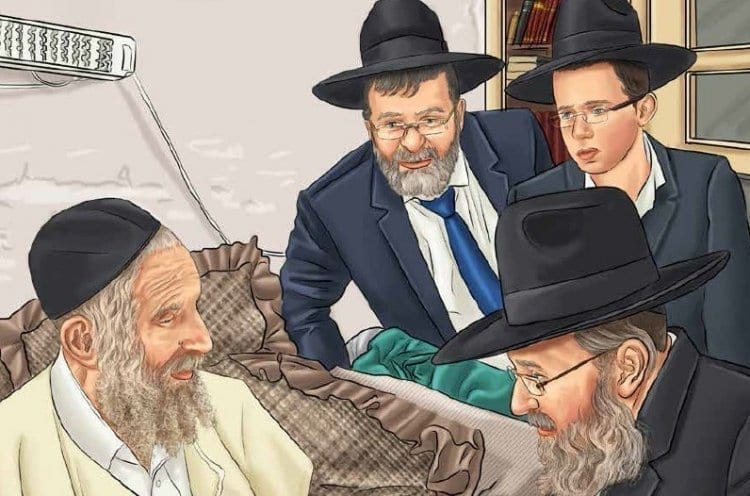 Photo of Rabbi Shteinman For Children: Will there be a need for an operation?