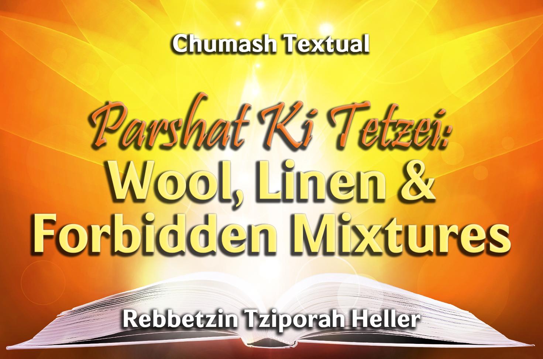 Photo of Parshat Ki Tetzei – Wool, Linen & Forbidden Mixtures