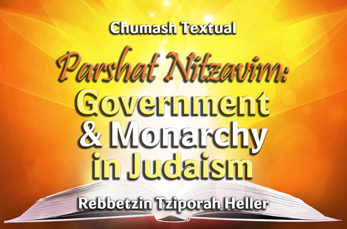 Photo of Parshat Shoftim – Government & Monarchy in Judaism