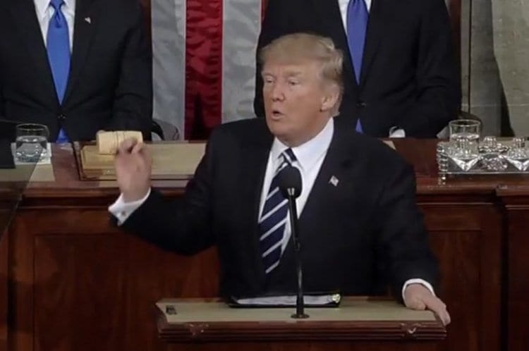 Photo of Trump Discussed Rising Anti-Semitism in His First Speech to Congress