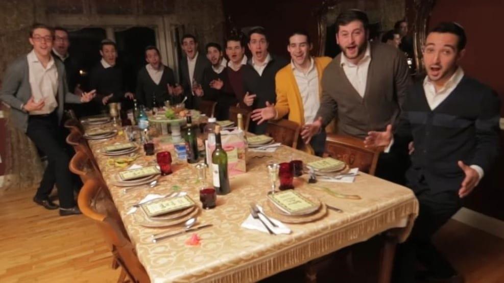 Photo of Enjoy this Seder Acapella