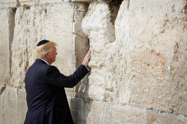 Photo of Trump Visits Kotel