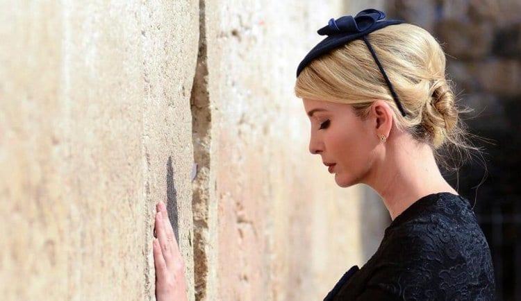 Photo of Ivanka at Western Wall