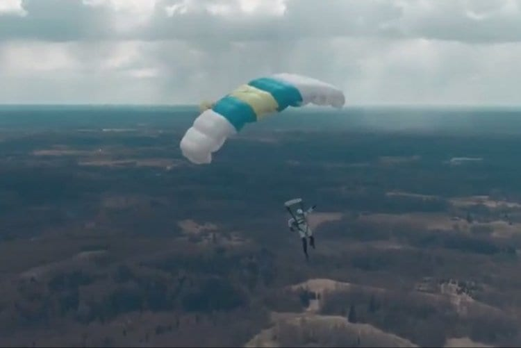 Photo of Watch: World's First Drone Jump