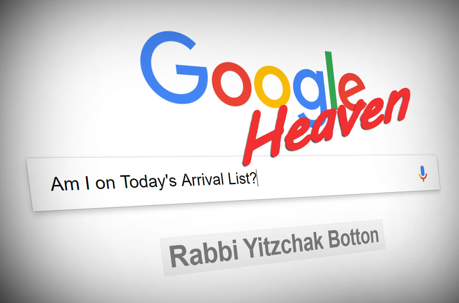 Photo of Google Heaven – Am I Gonna Die Today?