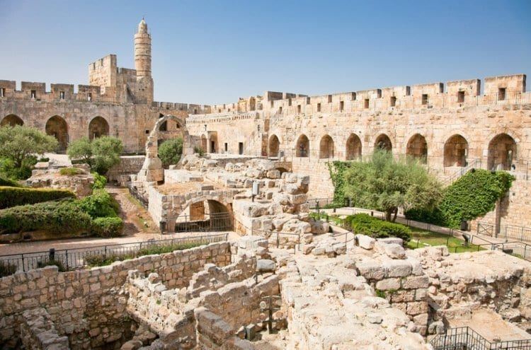 Photo of Ruins from First Temple Destruction Found in City of David