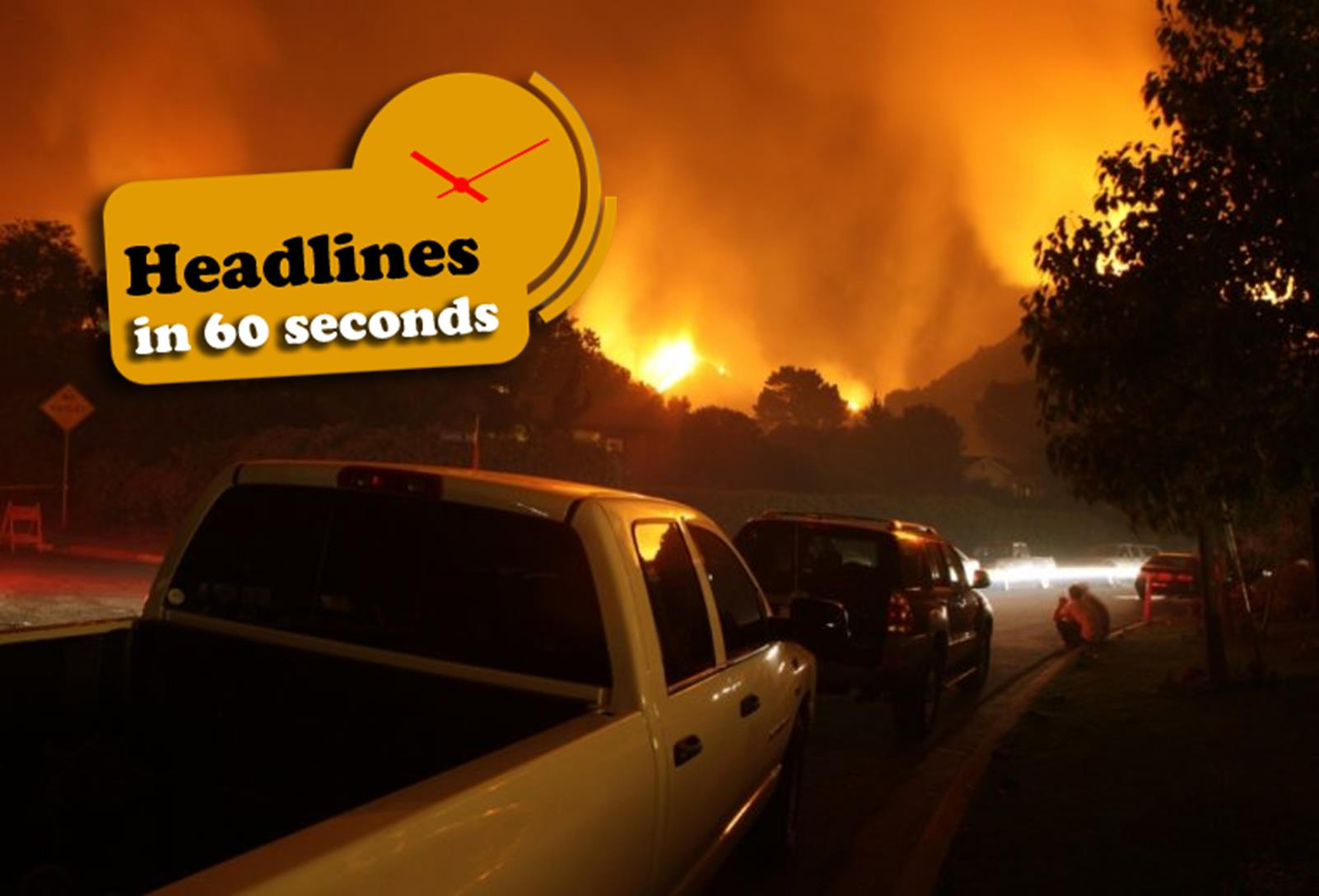 Photo of California Fire Death Toll Reaches 40