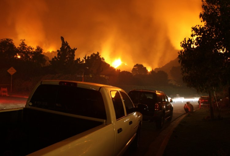 Photo of Did G-d Send Us a Message from the California Fires?