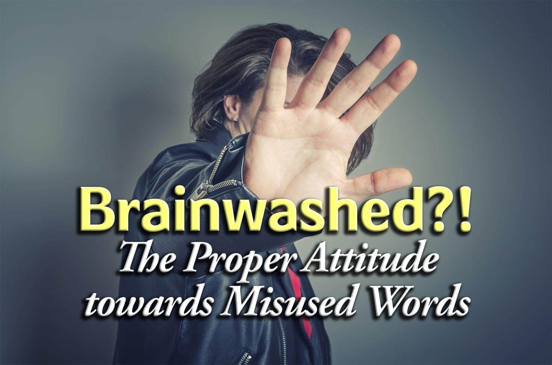 Photo of Brainwashed – The Proper Attitude towards Misused Words