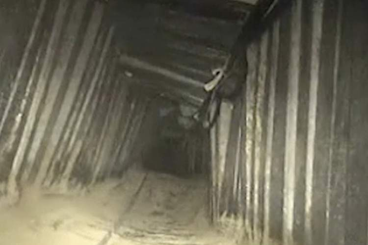 Photo of Another Hamas Tunnel Detected and Exploded by IDF