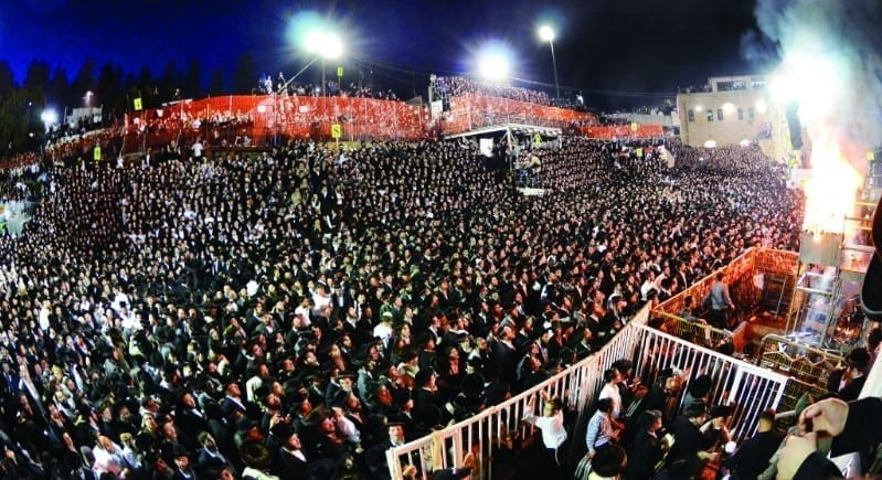 Photo of Hidabroot: Lag BaOmer Live From Meron!