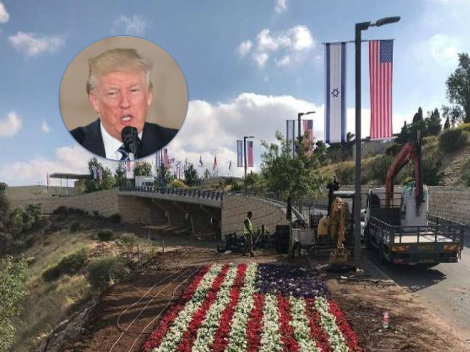 "Photo of Watch: President Trump – ""Embassy Move A Great Day For Israel"""