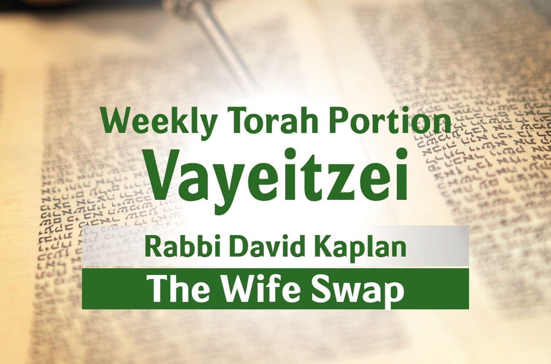 Photo of Parshat Vayeitzei – The Wife Swap