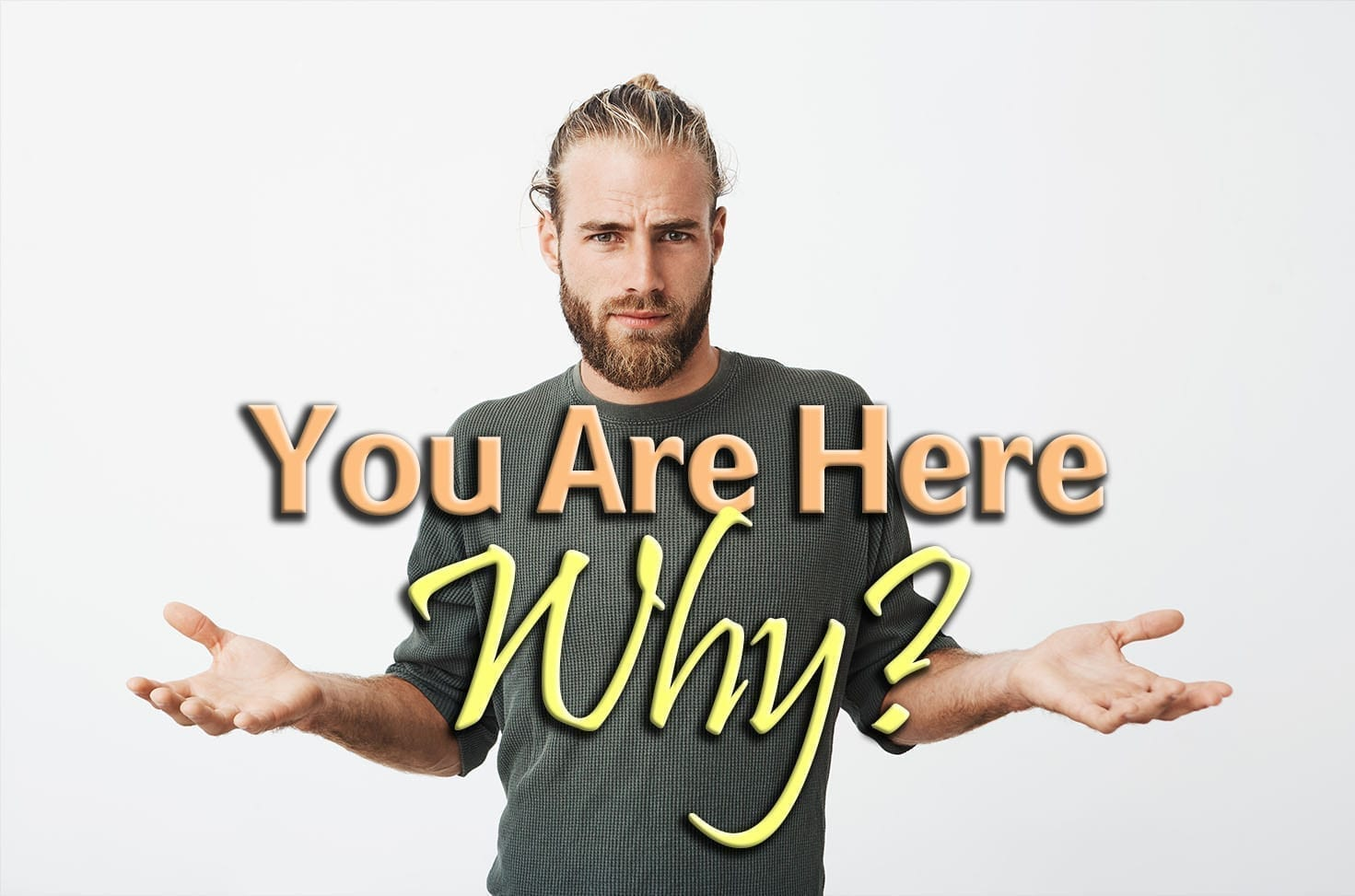 Photo of You Are Here – Why?