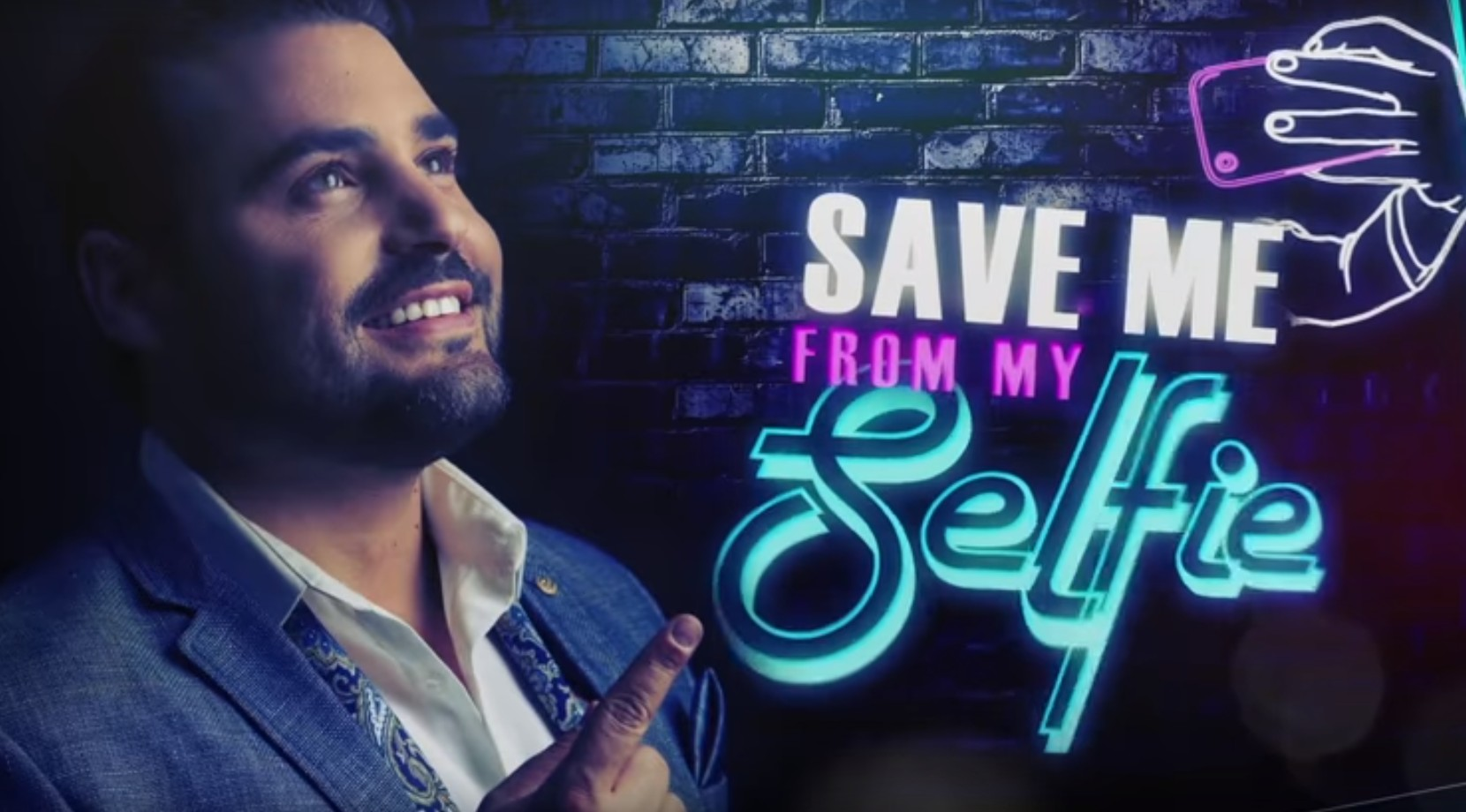 Photo of Gad Elbaz – Save Me From my Selfie – Official lyrics Video