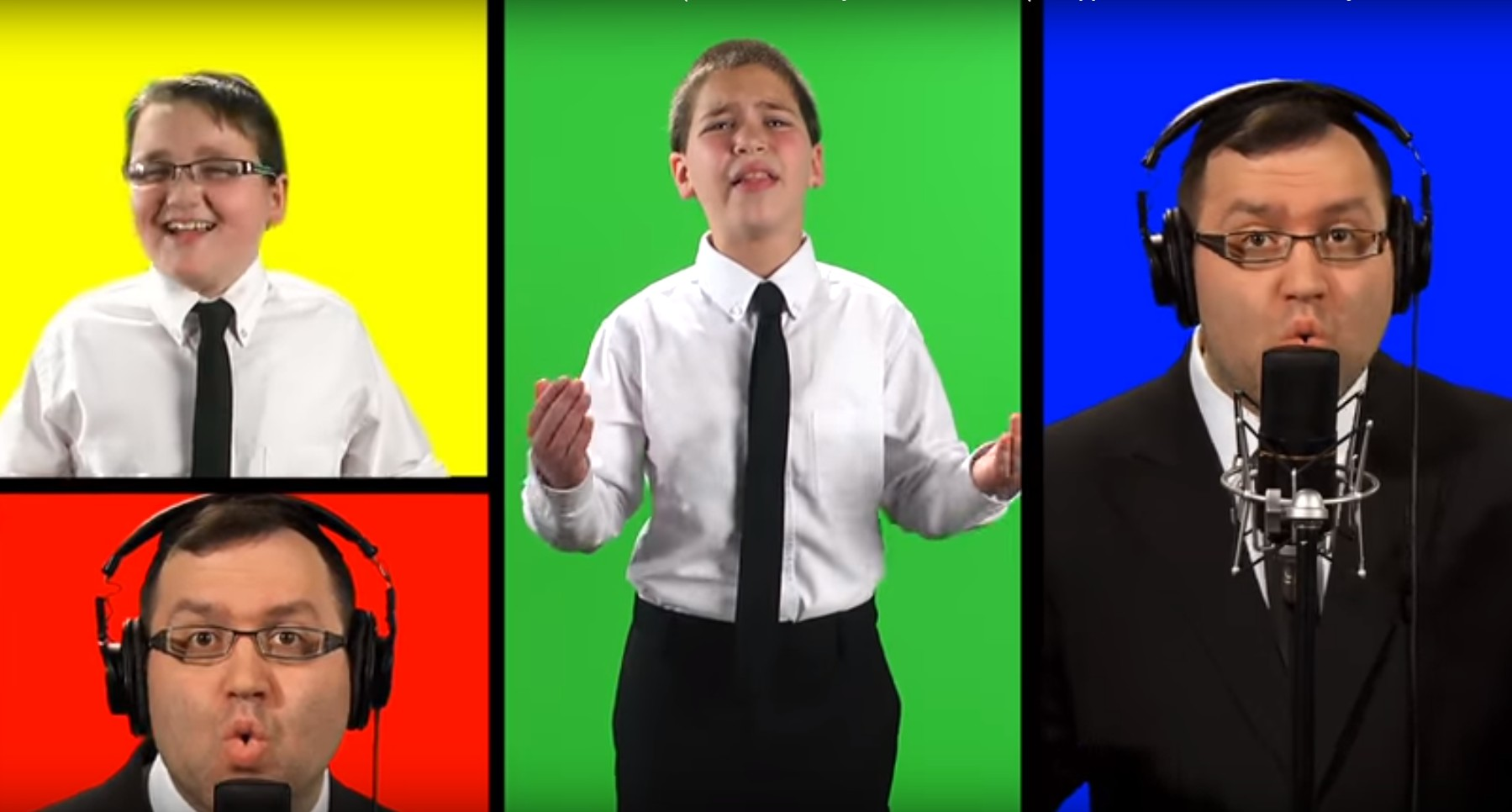 """Photo of The Yeshiva Boys Choir – """"Amein"""" A Cappella"""