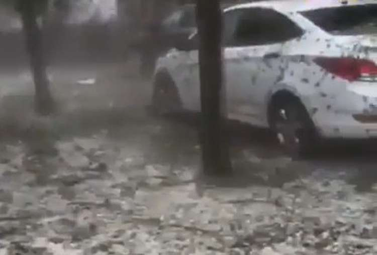 Photo of Wild Hailstorm Hits Russia – Watch