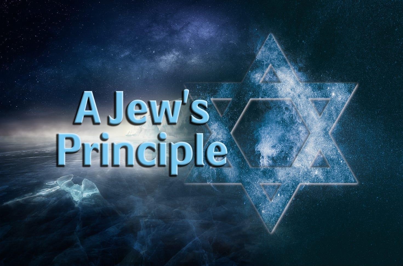 Photo of A Jew's Principle