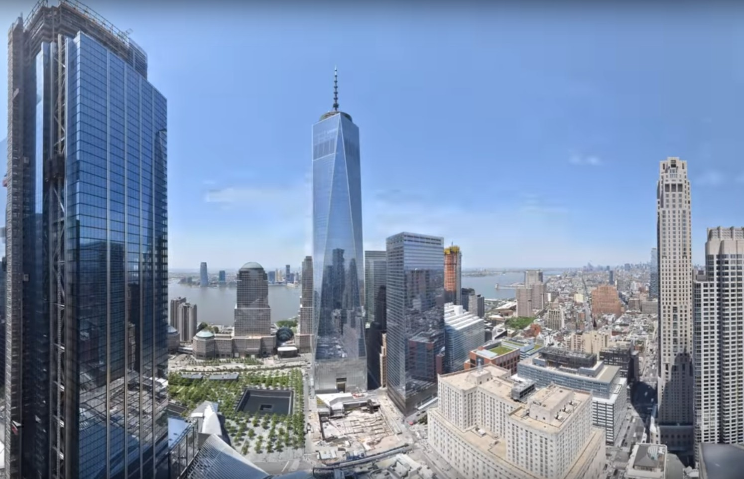 Photo of World Trade Center 8 Year Time-Lapse Movie