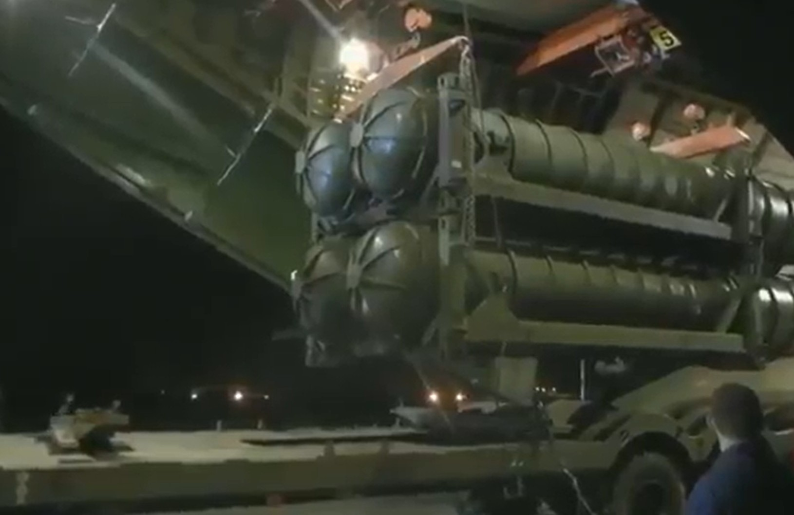 Photo of Watch: S-300 Missile Defense System Arrives in Syria