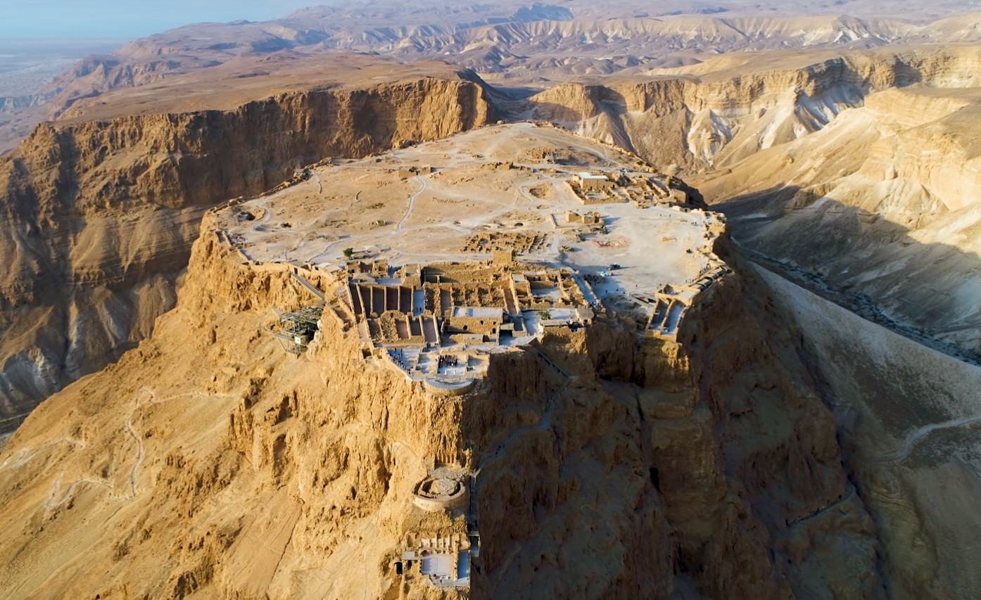Photo of Watch: Ariel View of Masada – Magical