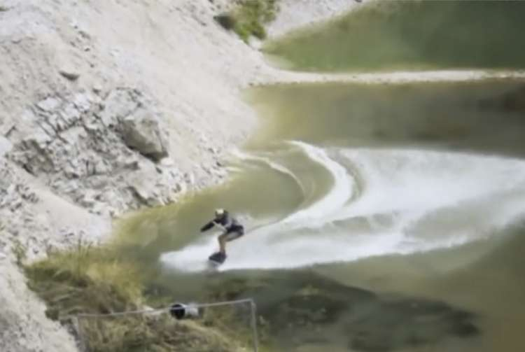 Photo of Watch: The Quarry that Became a Surfing Ground
