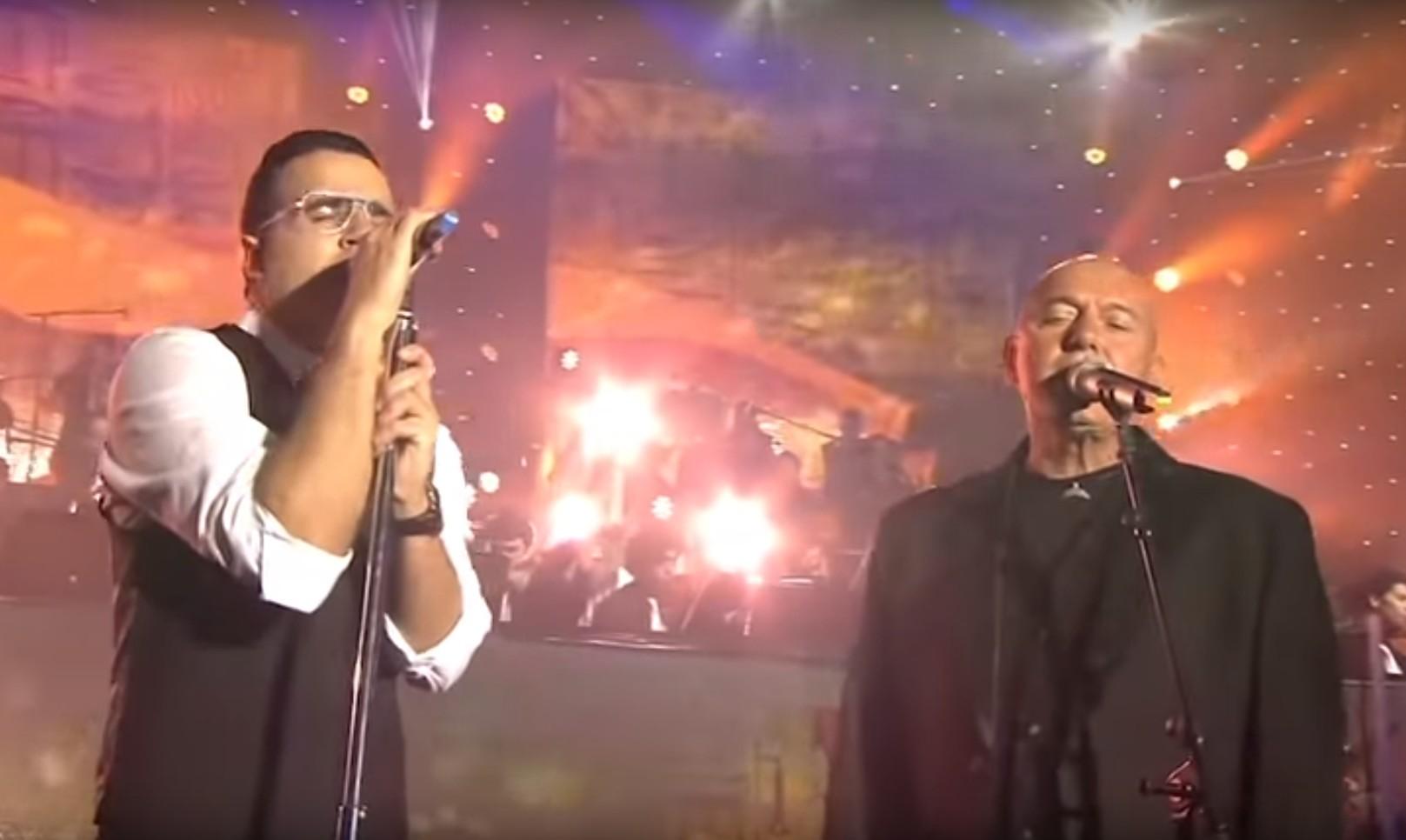 Photo of Watch: Yaakov Shwekey & Shlomi Shabbat – Vehi Sheamda